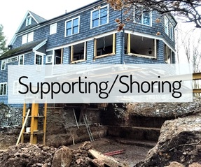 supporting/shoring